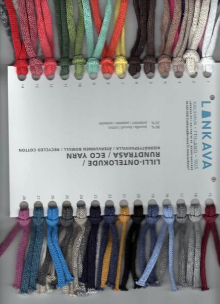 Farbkarte Baumwolltrikot