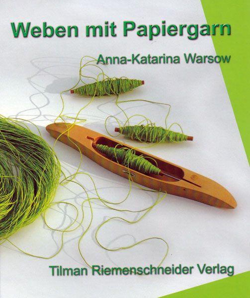 Buch - Weben mit Papiergarn