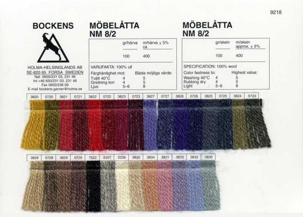 Farbkarte Möbelåtta