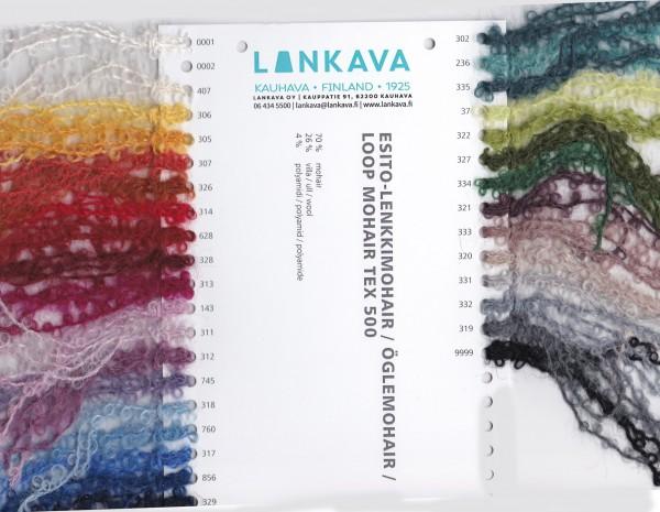 Farbkarte Lenkki-Mohair (Schlingenmohair)